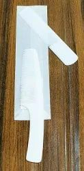 Plastic White Hair Comb