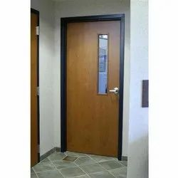 Brown Hinged Wooden Acoustic Door, For Home,Office etc
