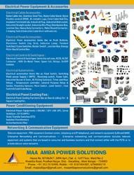 Power Electronics Equipments, Panel & Automation Accessories