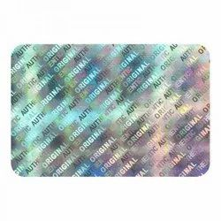 Silver Hologram Sticker
