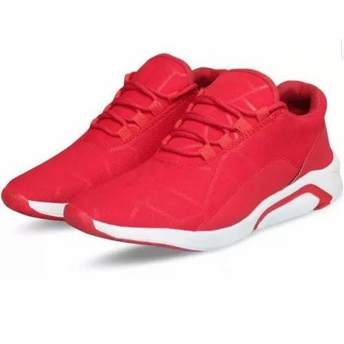 Deesa Footwear Mens Red Sport Shoes