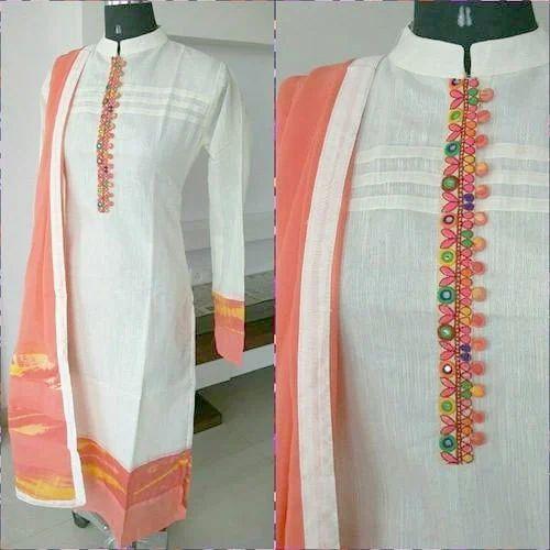 Ladies Kurti Ladies Fancy Maroon Kurti Manufacturer From Agra