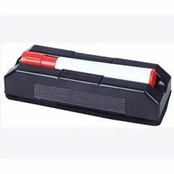 Red Plastic White Board Duster With Marker Holder