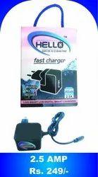 Black 2.5 Amp Charger
