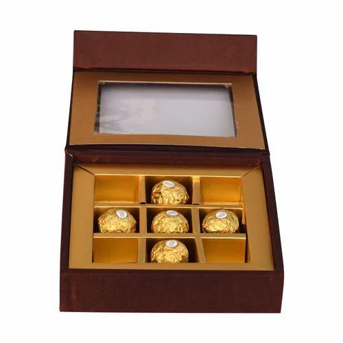 Brown Chocolate Box