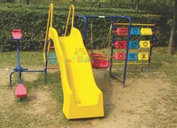 Playground Swing & Slide