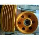 Direveter Wheel 320mm Dia 8mm Rope 6groove