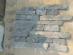 Black Rundle & West Coast Mix Ledgestone Veneer