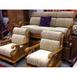 Wooden 5 Seater Sofa Set Rs 2200