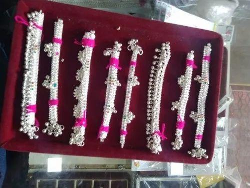Bs New Salem Silver Leg Chain, Rs 25 /gram, Bharath Payals