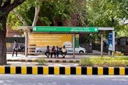 Non Digital Outdoor Bus Shelter Advertisement