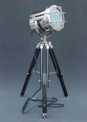 Vintage Nautical Searchlight Floor Lamp