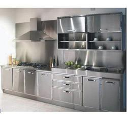 Kube Straight Metal Modular Kitchen, Warranty: 1-5 Years