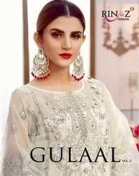 Rinaz Fashion Gulaal Vol-3 Pakistani Style Salwar Kameez Catalog Collection