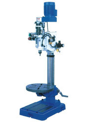 Cycle Operated Pneumatic Automatic Drilling Machine