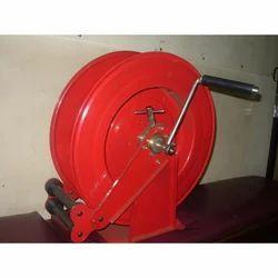 8000 Series Dual Stand Carbon Steel Manual Hose Reel