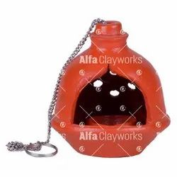 Clay Hanging Diya