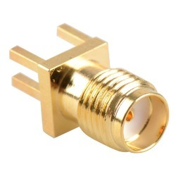 SMA Connector Female - PCB Edge Mountable (1.6mm)