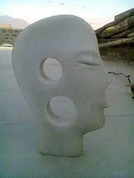 Handmade Marble Decorative Man Sculpture