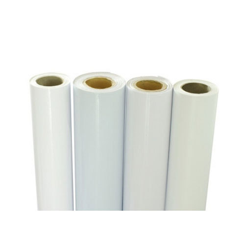 graphic about Printable Self Adhesive Vinyl Roll called Self Adhesive White Printing Vinyl Roll