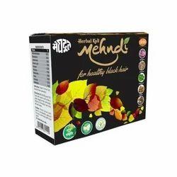 Meghdoot herbal kali mehndi, for healthy black hair