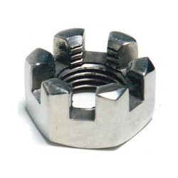Slotted Stainless Steel Nuts, Packaging Type: Packet
