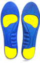 Gel Insole - Blue with Yellow