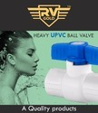 RV Gold Pure UPVC Ball Valve