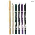 Glazzed Green And Cool Purple Color Fever Metallic Kajal Eye Pencil, Pack Size: 12