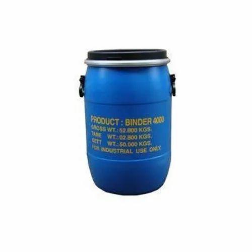 4000 Textile Binder, Packaging Type: Drum