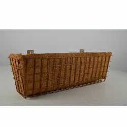 24 Inch Coir Window Box Planter