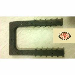 Black PVC Foot Step