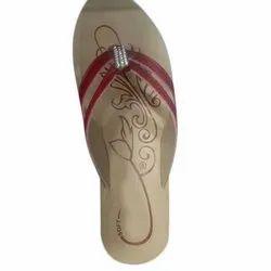 Ladies Printed Slipper, Size: 4 - 8 Uk