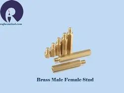 Brass Male Female Stud