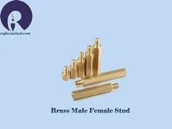 Brass Male Female Stud