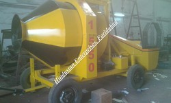 Reversible Concrete Mixer Machine RM 1050