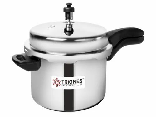 Triones Stainless Steel Pressure Cooker - 5 Ltr (Triply)
