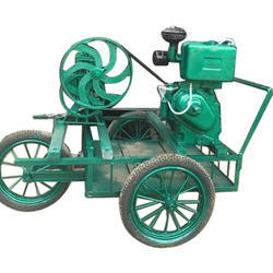 3 Wheel Sugarcane Juice Machine