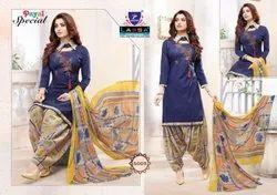 Cotton Arihant Print Lassa Payal Special Dress Material