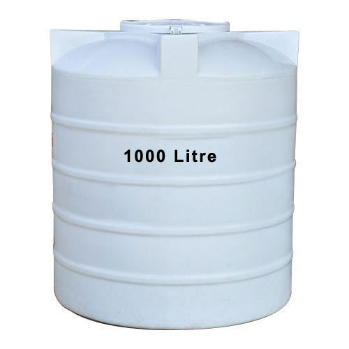 Plastic Triple Layer White Water Tank Capacity 1000 L Rs 2034 Piece Id 19719701855