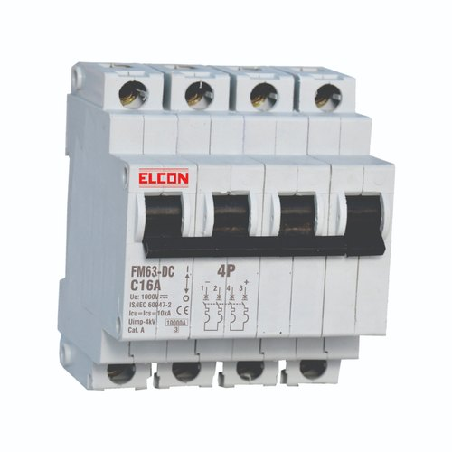 DC Miniature Circuit Breaker MCB For Solar