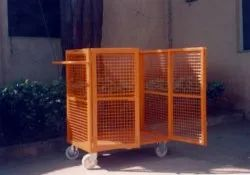 Hydro Stainless Steel Wire Mesh Trolley