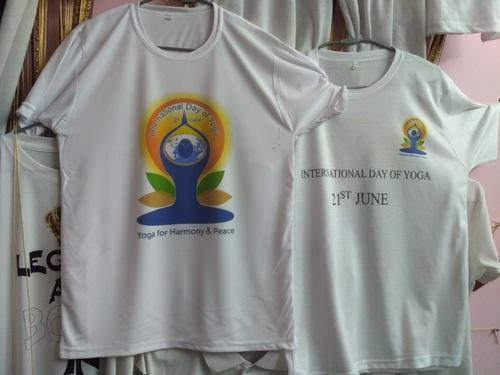 Promotional Products - Promotional Yoga Day T Shirts
