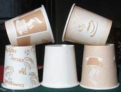 Wrapper India Disposable Poly Coated Paper Cup, For Event And Party Supplies