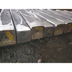 Silver Square Stainless Steel 304 Ingot, for Manufacturing and Construction