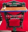 Leg Spiral Binding Machine