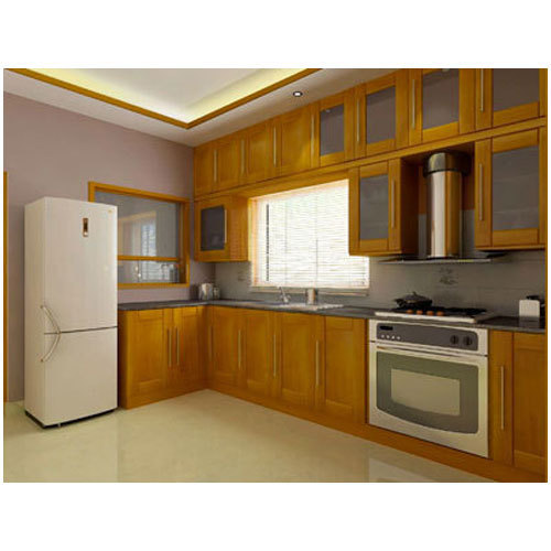 Plywood L Shaped Modular Kitchen, Rs 650 /square Feet