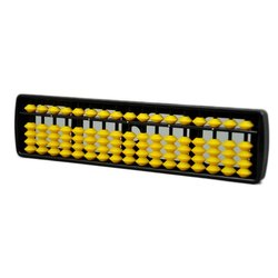 Yellow 17 Rod Student Abacus