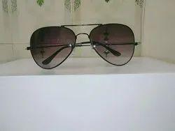 Black Sunglasses Aviator Black Sunglasses, Size: 65