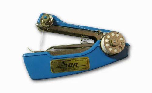 Sun Portable Stapler Model Hand Sewing Machine AVK Marketing Adorable Sun Hand Sewing Machine